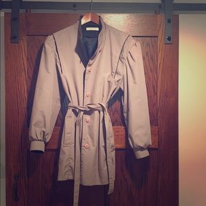 Vintage fall jacket. FOXLAND by Lanson